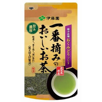 Itoen Ichiban Tsumami no oishiocha - Rich taste - Japanese Green Tea Leaf - 100g