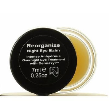 Skinn Reorganize Night Eye Balm Overnight Eye Treatment w/Dermaxyl 0.25 oz