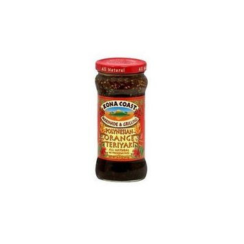 Kona Coast Marinade & Grilling Orange Teriyaki Sauce (6x14.5Oz)