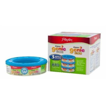 Playtex Diaper Genie Disposal System Refills (1620 Count Total - 6 Pack of 270 Each)