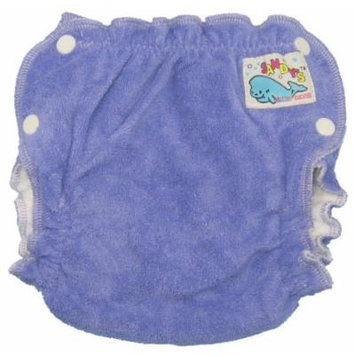 Mother-ease Sandy's Cloth Diaper (Large, Purple)