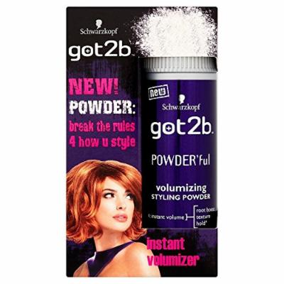 Schwarzkopf göt2b Powder'ful Vol Style Powder 10g by göt2b