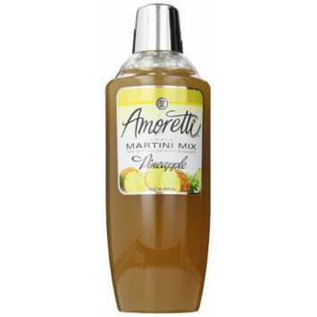 Amoretti Premium Martini Cocktail Mix, Pineapple, 28 Ounce