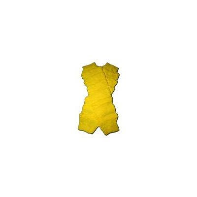 YELLOW RUFFLES - Baby Leggings/Leggies/Leg Warmers - Little Girls & Boys & ONE SIZE by