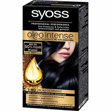 Syoss Oleo Intense Permanent Intensive Oil Color (1-40 Blue Black)