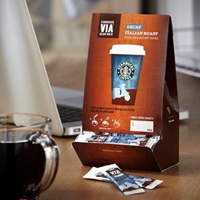 Starbucks Via® Ready Brew Decaf Italian Roast 50-count (Pack of 2)