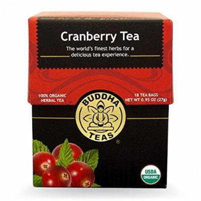 Cranberry Tea - Organic Herbs - 18 Bleach Free Tea Bags