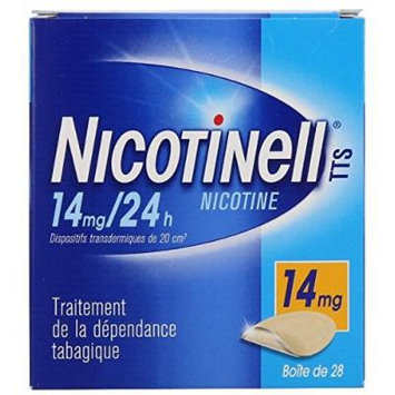Nicotinell 14 MG 24 Hour Nicotine Patch Smoking Cessation - 28 Patches