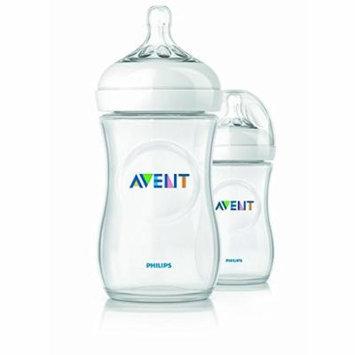 2 X 9oz Avent Natural Plastic (Pp) Bottles, New, BPA Free