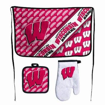 NCAA Wisconsin Badgers Premium Barbeque Tailgate Set