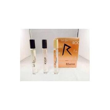 Rihanna 3 pc. 0.2 oz. Eau de Parfum / RB Gift Set Includes: Reb'l Fleur, Rogue, Nude. In a Gift Box NEW