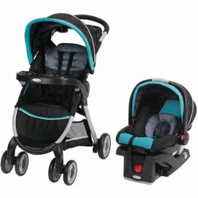 Graco FastAction Fold Click Connect Travel System, Bristol