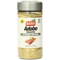 Badia Adobo with Pepper, 7 Ounce (Pack of 12)