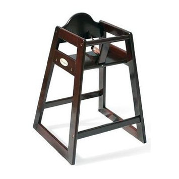 Foundations - Classic Wood High Chair, Cherry