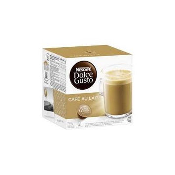 Nescafé Dolce Gusto Café au lait, Pack of 4, 4 x 16 Capsules