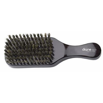 Diane Men's Club Brush, 100% Boar Bristles #8118 - 2 pieces, 100% natural boar bristle, 8 row, 7 inches club brush, Easy grip handle, 2-Pieces, Men's Club Brush.
