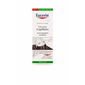Eucerin Dermo Capillaire Anti-dandruff Gel Shampoo for Sensitive Greasy Scalp for Women, 250ml