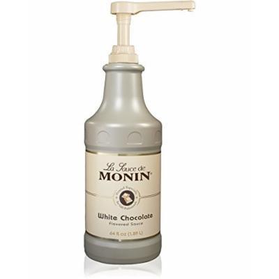 Monin White Chocolate Sauce 64 fl oz - Single Bottle