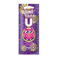 5 Owl Tan U Bronzer Tanning Lotion Packets