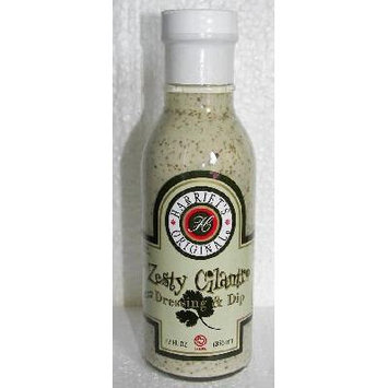 Harriet's Original All Natural Salad Dressing, Marinade or Dip 12oz Bottle (Pack of 3) Choose Flavor Below (Zesty Cilantro Dressing & Dip)