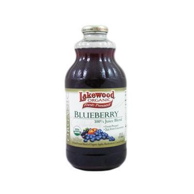 Lakewood Organic Fresh Pressed Blueberry (3 X 32 Fl Oz)