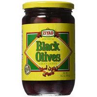 Ziyad Black Olives, Natural, 16 Ounce
