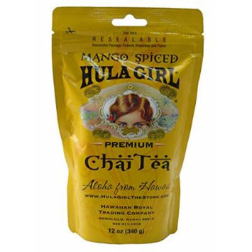 Hula Girl Premium Spiced Chai Tea (Mango)