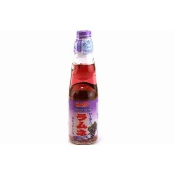 Shirakiku Ramune Carbonated Soft Drink Soda 200 ml. - Grape (200 ml)
