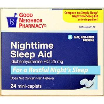 GNP Nighttime Sleep Aid (24 caplets)