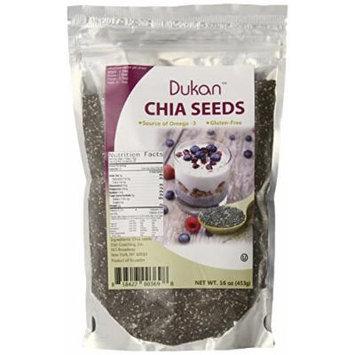 Dukan Diet Chia Seeds, 1 Pound