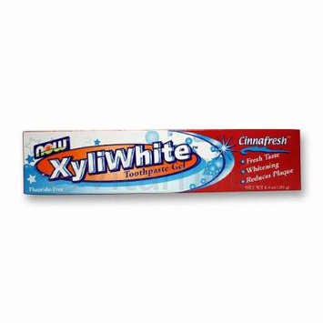 Now Foods Xyliwhite Cinnafresh Toothpaste Gel 6.4 Oz Pack of 2