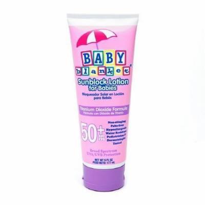 Baby Blanket Sunblock Lotion for Babies, SPF 50+ 6 fl oz (177 ml)