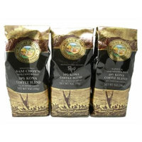 Royal Kona Coffee Triple Variety Pack (All Purpose Grind) - 21 oz
