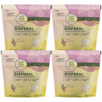 Grab Green Natural Garbage Disposal Cleaner and Freshener, Thyme with Fig Leaf, 12 Pods (Pack of 4)