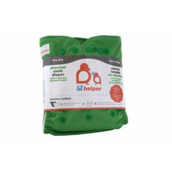 Charcoal Cloth Diapers - Solids (Green)