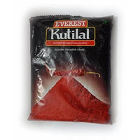 Everest Kutilal Ground Spice Distinguished By Their Bright Red Color and Mild Pungency (Pouch, 100 Gms)