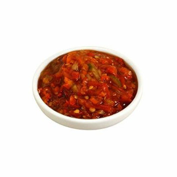 Bay Valley Processed Hot Chopped Cherry Pepper Relish, 1 Gallon -- 4 per case.