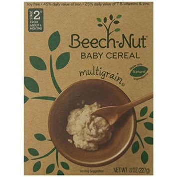 Beech-nut Cereal, Multigrain, 8 Ounce Boxes (Pack of 2)