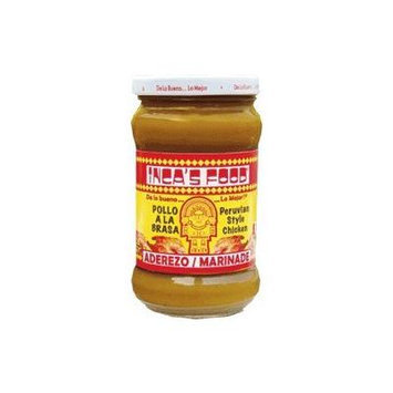 Inca's Food Aderezo / Marinade for Peruvian Style Chicken 10.5oz 2 Pack