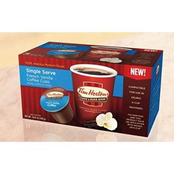 Tim Hortons French Vanilla - 96 single serve coffee cups