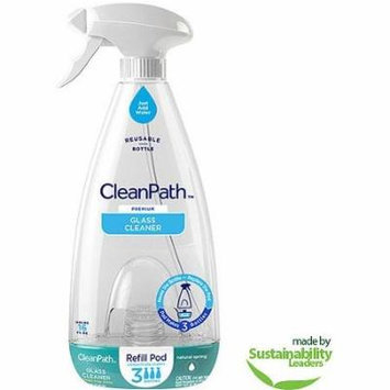 CleanPath Premium Glass Cleaner, Natural Spring