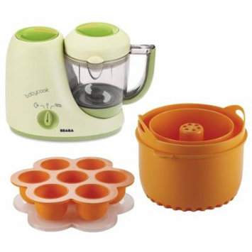 Beaba Babycook Classic Baby Food Maker with Rice and Grain Insert & Freezer Tray, Sorbet