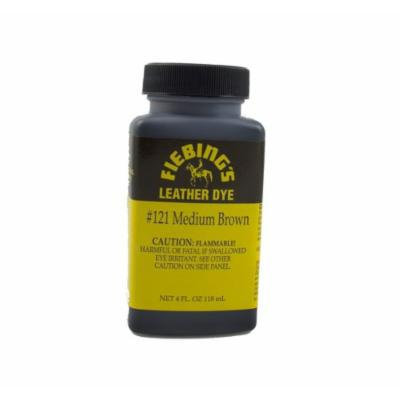 Fiebing's #121 Medium Brown Leather Dye 4oz