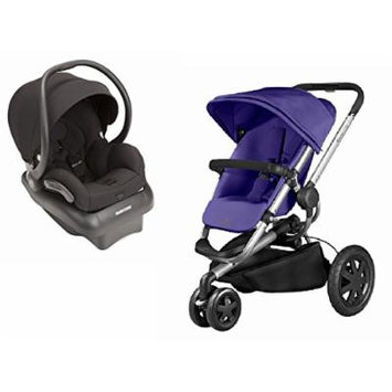 Quinny 2015 Buzz Xtra 2.0 Stroller with Maxi-Cosi Mico AP 2.0 Infant Car Seat, Purple/Black