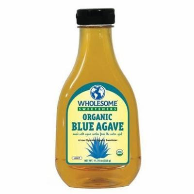 Wholesome Sweeteners Organic Blue Agave Low Glycemic Sweetener (Pack of 2)