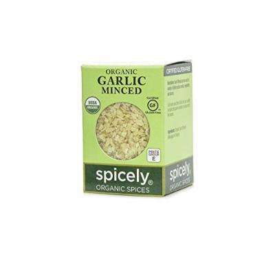 Spicely Organic Garlic Minced - Compact