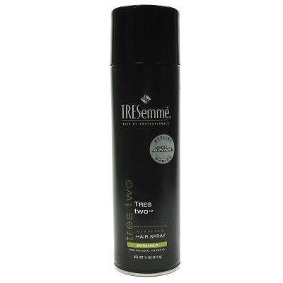 Tresemme Two Hairspray Extra Hold 11 oz. Aerosol (3-Pack) with Free Nail File