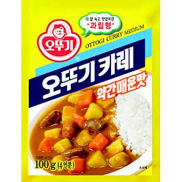 Ottogi Curry Powder 3.52 Oz 10 Pack Combo (Medium)
