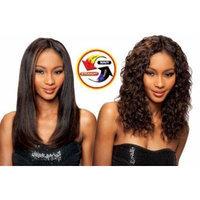 SAGA 100% HUMAN HAIR INDIAN REMY WET & WAVY - LOOSE DEEP 4PCS (1B Off Black)