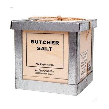 Butcher Salt Pere Pelletier Salt from France in Wood Box 17.6 oz